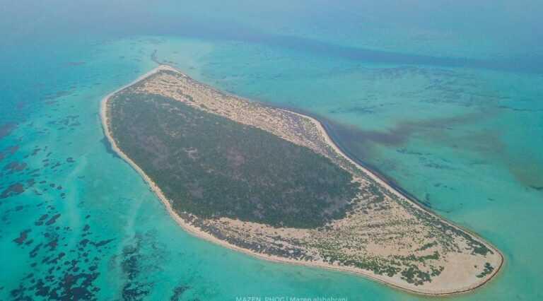 جزيرة ماركا أحد أجمل الجزر السعودية